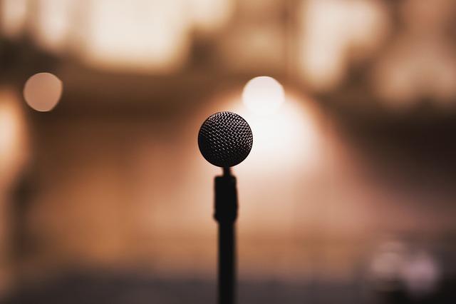 hudba, mikrofon