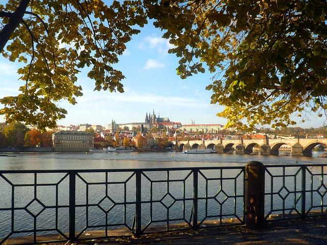 pražský hrad, Vltava, Karlův most