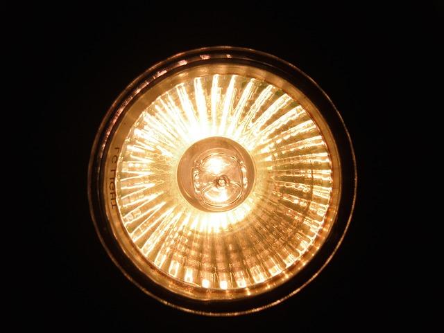 výkonný zdroj světla